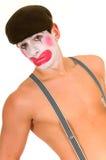 Droevige clown stock afbeeldingen