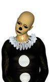 Droevige Clown Stock Fotografie