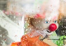 Droevige Clown Stock Foto's
