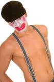 Droevige clown Royalty-vrije Stock Afbeeldingen