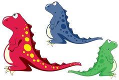 Droevige dinosaurus Royalty-vrije Stock Foto