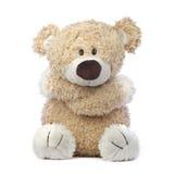 Droevige en Eenzame Teddybeer Royalty-vrije Stock Afbeeldingen