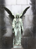 Droevige engel. Royalty-vrije Stock Afbeeldingen