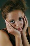 Droevige jonge vrouw Royalty-vrije Stock Afbeelding