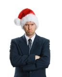 Droevige Kerstmis Royalty-vrije Stock Foto