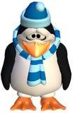 Droevige pinguïn Royalty-vrije Stock Afbeeldingen