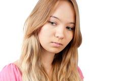 Droevige tiener Stock Afbeelding