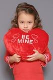 Droevige Valentijnskaart Royalty-vrije Stock Afbeelding