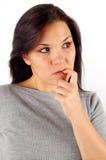 Droevige vrouw #21 Stock Afbeelding
