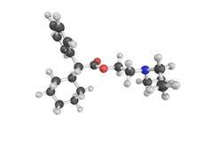 Drofenine, een spasmolytic agent 3d model Royalty-vrije Stock Fotografie