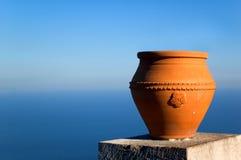 drogą morską wazon przeoczyć fotografia stock