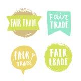 Drog emblem för ganska handel hand vektor illustrationer