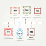 Drog infographic beståndsdelar för vektor hand med royaltyfri illustrationer