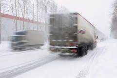 droga śnieżna Obraz Royalty Free