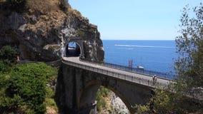 Droga Amalfi wybrzeże, Włochy zdjęcie wideo