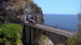 Droga Amalfi wybrzeże, Włochy zbiory