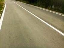 Droga asfaltu pasek Obraz Royalty Free