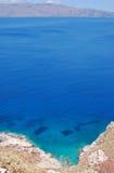 Droga Błękitna laguna Zdjęcie Stock