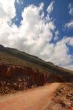 Droga Błękitna laguna fotografia stock