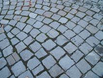droga brukujący kamień zdjęcia royalty free