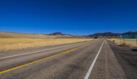 Droga Bryka jaru park narodowy w Utah UTAH, PAŹDZIERNIK - 24, 2017 - CZERWONY jar - Zdjęcia Stock