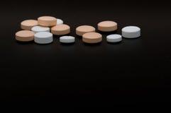 Droga de las píldoras Imagen de archivo