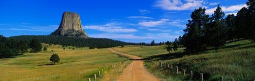 Droga Diabła Zabytek Basztowy Krajowy Obrazy Royalty Free
