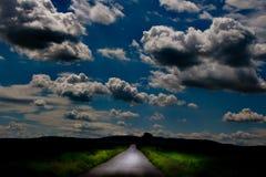 droga do końca świata Zdjęcie Stock