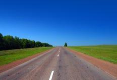 droga do końca świata Zdjęcia Royalty Free