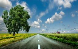 droga do nieba Zdjęcia Royalty Free