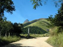 droga do wsi, Obraz Royalty Free