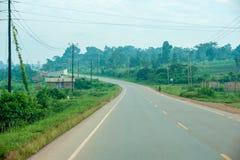 Droga fortu portal - Uganda Fotografia Stock