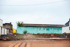 Droga fortu portal - Uganda Obrazy Stock