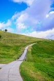 Droga góra Obrazy Stock