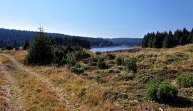 Droga gruntowa blisko rzeki Obraz Stock