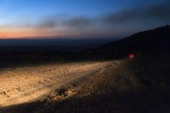 Droga gruntowa, Chapada da Diamantina, Brazylia zdjęcie stock