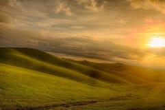 Droga gruntowa w Tuscany Zdjęcie Royalty Free
