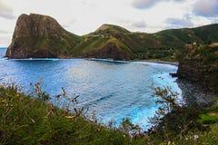 Droga Hana plażowy nabrzeżny widok Obraz Royalty Free