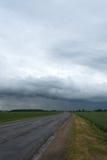 Droga i chmura Zdjęcia Stock