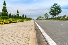 Droga i przejście w Chiang mai 1 Zdjęcia Stock