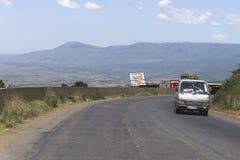 Droga i samochody Zdjęcie Royalty Free