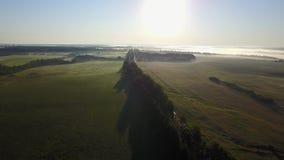 Droga i wschód słońca zdjęcie wideo
