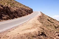 Droga idzie szczyt Szczupaka Szczyt 2 Obrazy Royalty Free