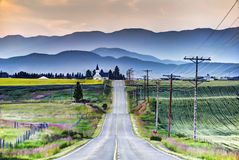 droga kościelna Zdjęcie Royalty Free