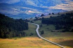 Droga krajobraz Zdjęcie Stock