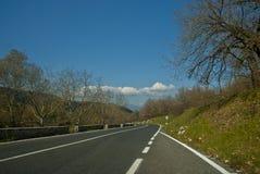 Droga która biega zdjęcie royalty free
