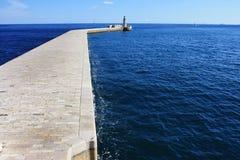 Droga latarnia morska Obrazy Stock