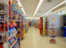 Droga Mart Store dos clientes Imagem de Stock