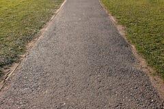 Droga między trawą Obraz Stock