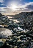 Droga morze Zdjęcie Royalty Free